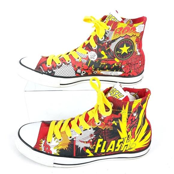 53818c3fbe6a Converse Other - Converse Chuck Taylors DC Comics Flash All Stars
